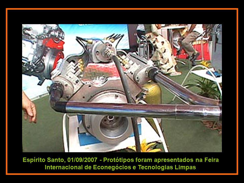 Espírito Santo, 01/09/2007 - Protótipos foram apresentados na Feira