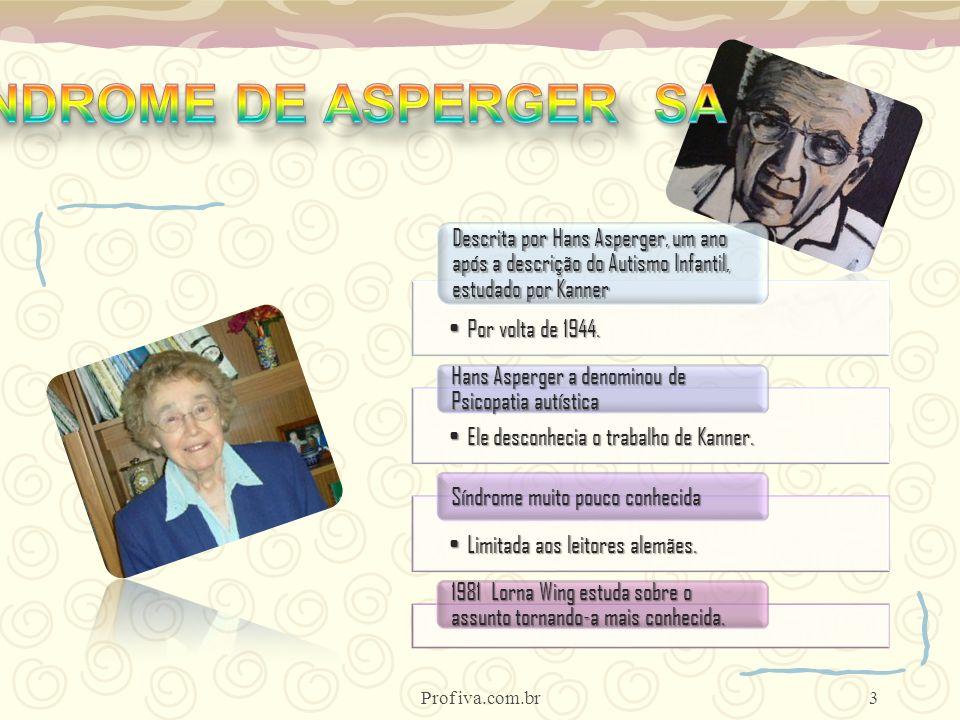 SÍNDROME DE ASPERGER SA