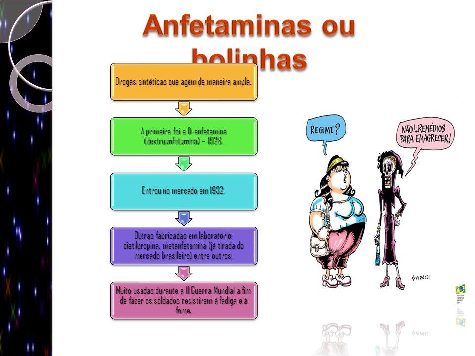 Anfetaminas ou bolinhas