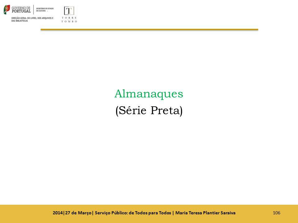 Almanaques (Série Preta)