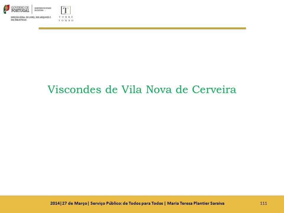Viscondes de Vila Nova de Cerveira