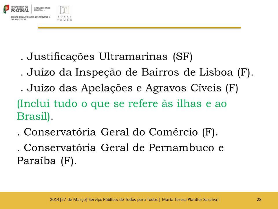Justificações Ultramarinas (SF)