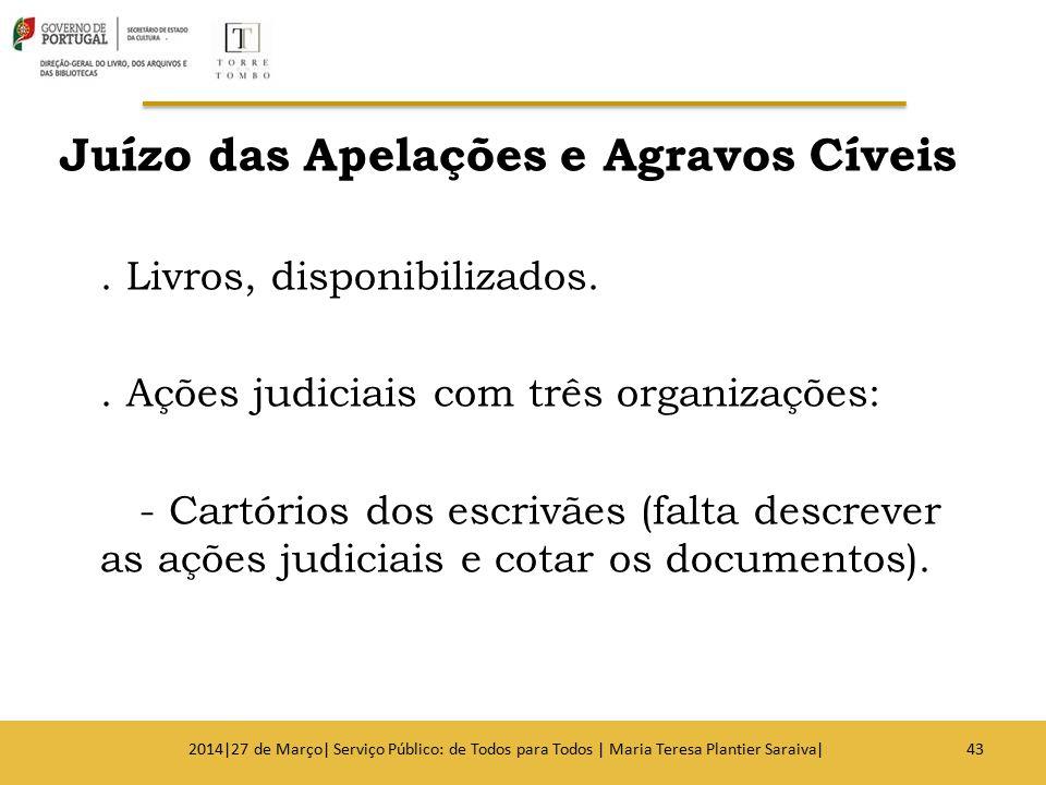 Juízo das Apelações e Agravos Cíveis