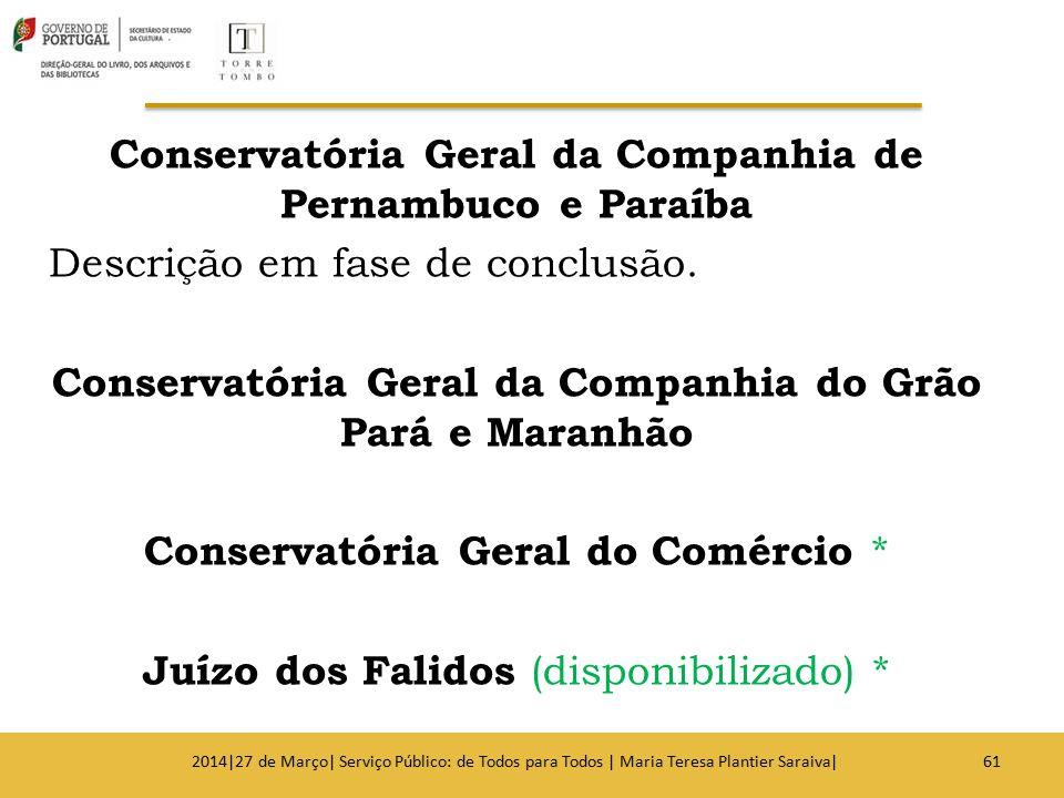 Conservatória Geral da Companhia de Pernambuco e Paraíba