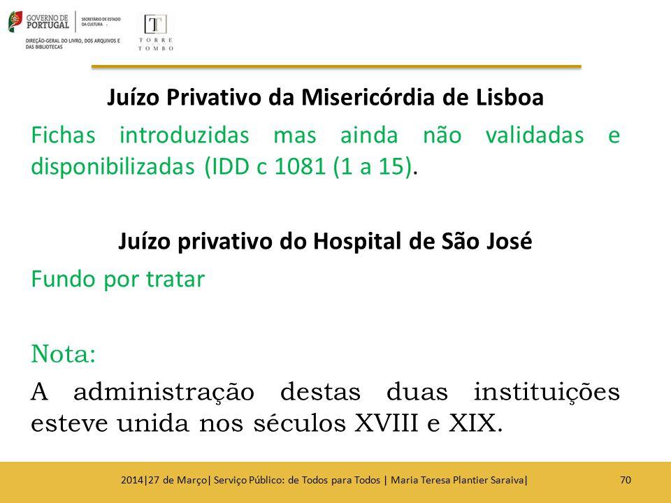 Juízo Privativo da Misericórdia de Lisboa
