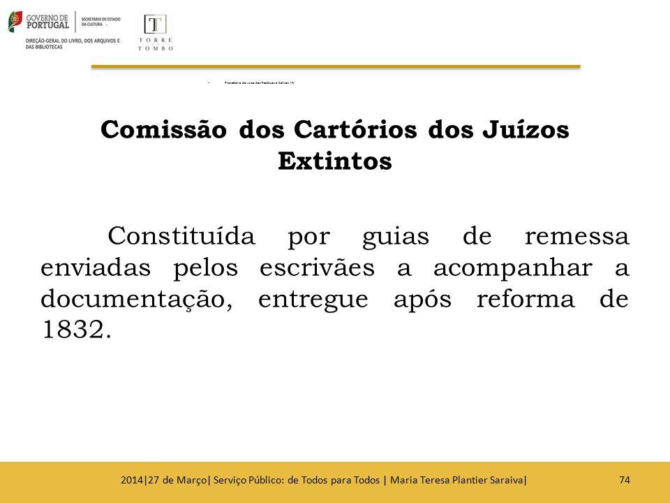 Comissão dos Cartórios dos Juízos Extintos