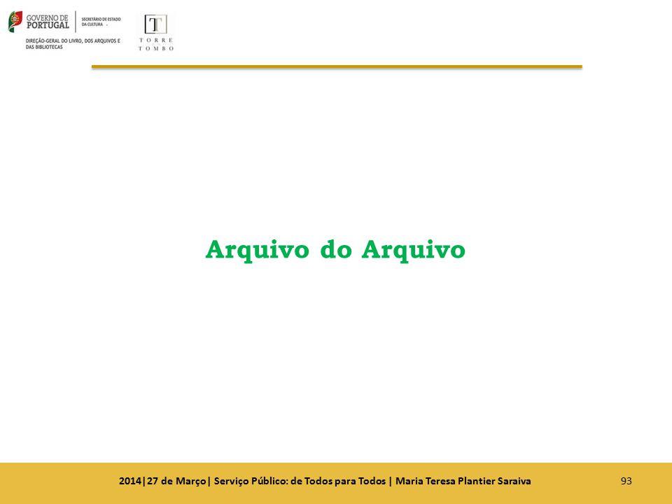 Arquivo do Arquivo 2014|27 de Março| Serviço Público: de Todos para Todos | Maria Teresa Plantier Saraiva.