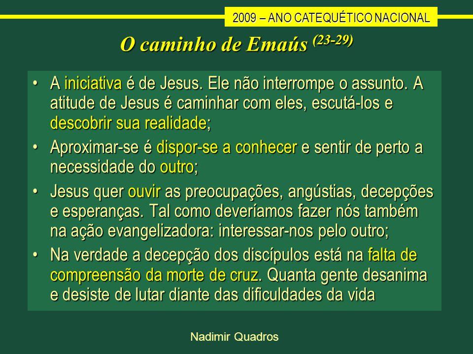 O caminho de Emaús (23-29)