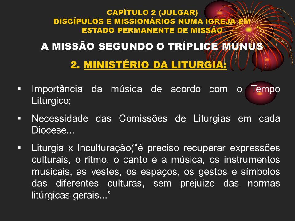 A MISSÃO SEGUNDO O TRÍPLICE MÚNUS