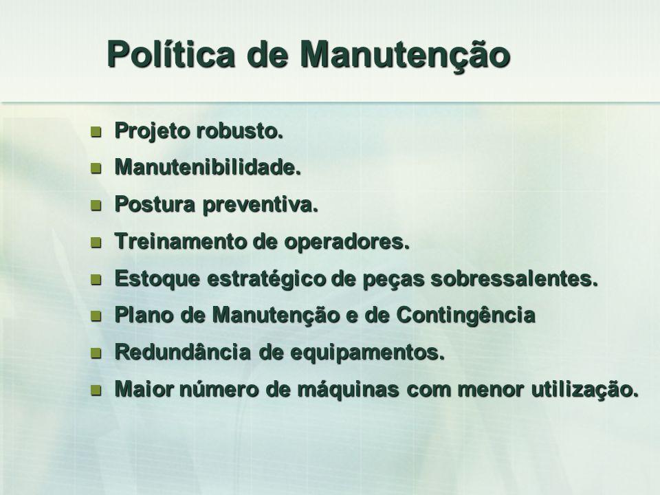 Política de Manutenção