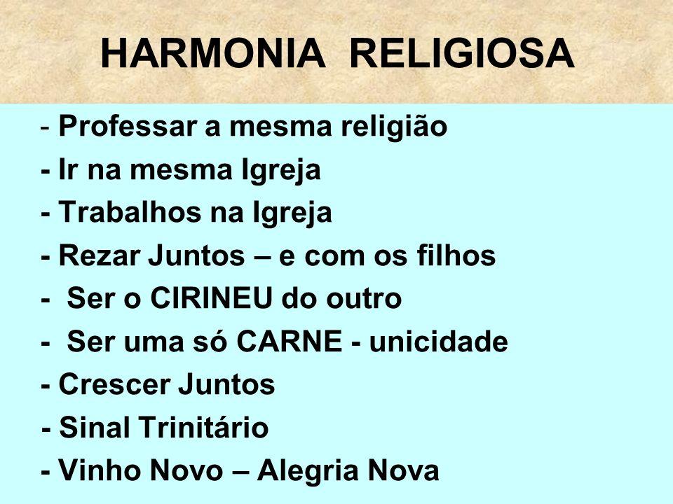HARMONIA RELIGIOSA