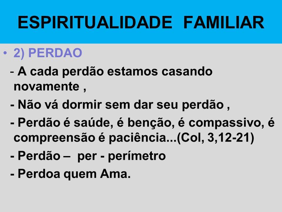 ESPIRITUALIDADE FAMILIAR
