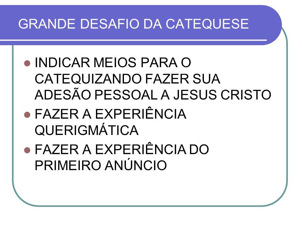 GRANDE DESAFIO DA CATEQUESE