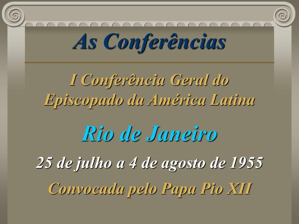 As Conferências Rio de Janeiro