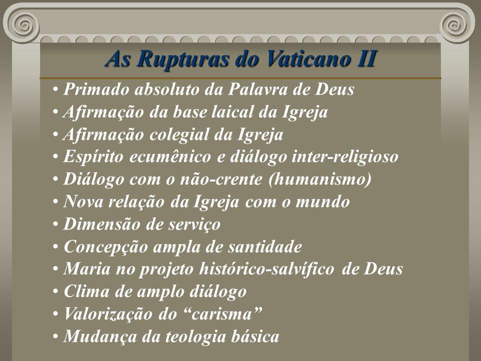 As Rupturas do Vaticano II
