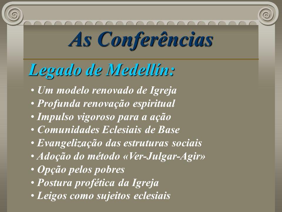 As Conferências Legado de Medellín: Um modelo renovado de Igreja