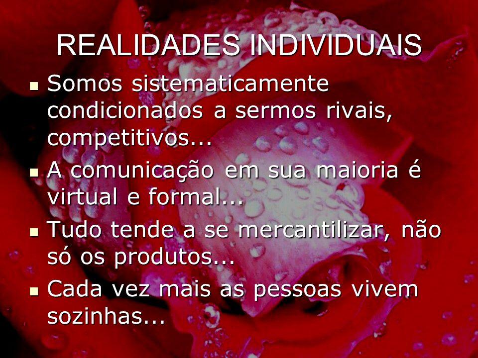 REALIDADES INDIVIDUAIS