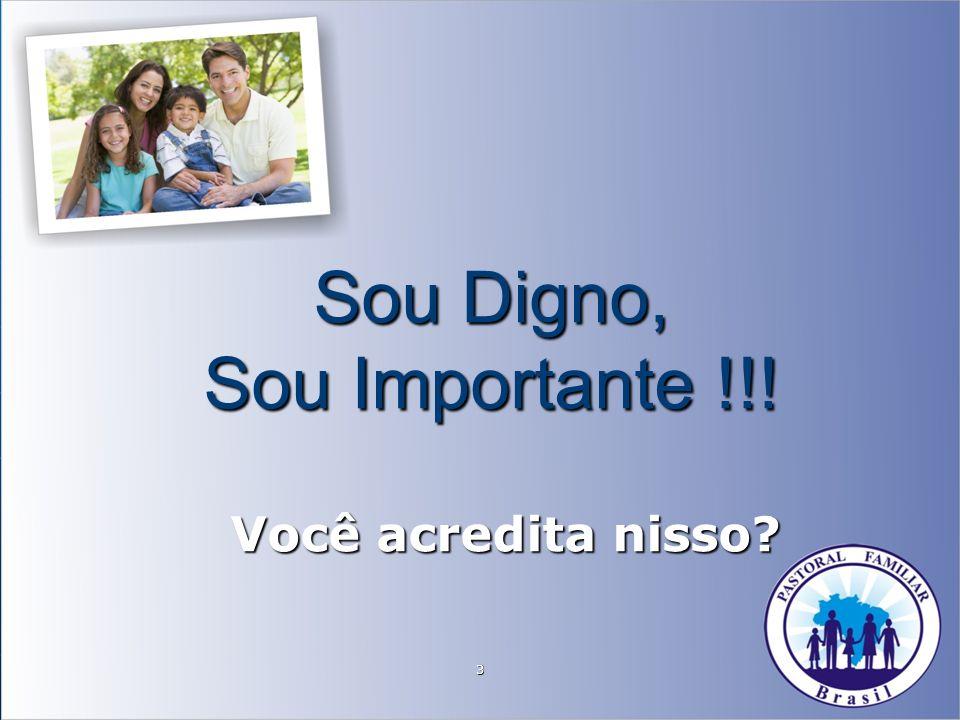 Sou Digno, Sou Importante !!!