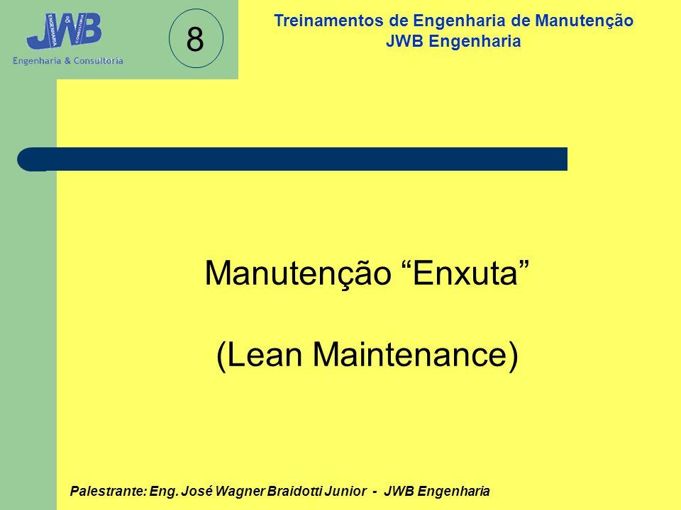 8 Manutenção Enxuta (Lean Maintenance)