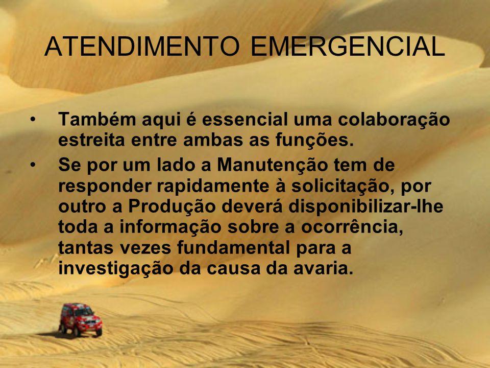 ATENDIMENTO EMERGENCIAL