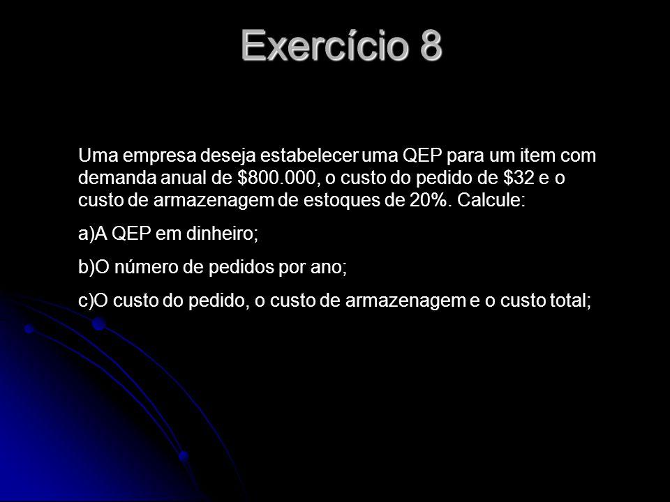 Exercício 8