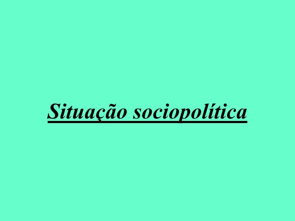 Situação sociopolítica