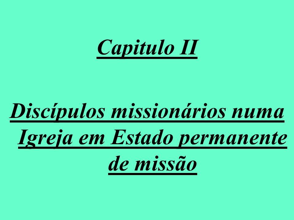Discípulos missionários numa Igreja em Estado permanente de missão