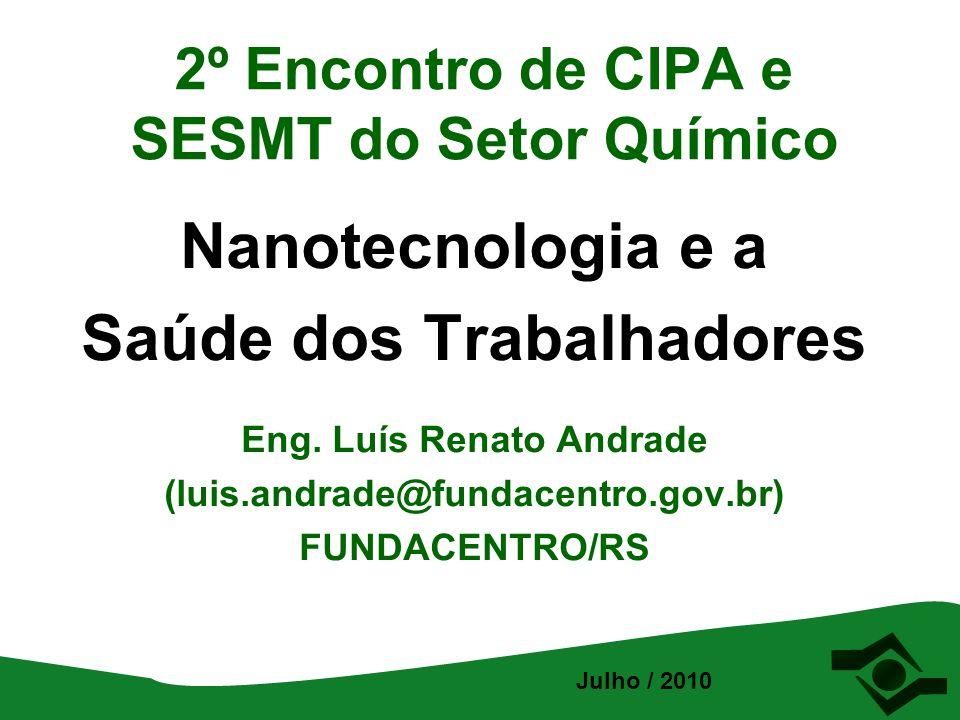 2º Encontro de CIPA e SESMT do Setor Químico