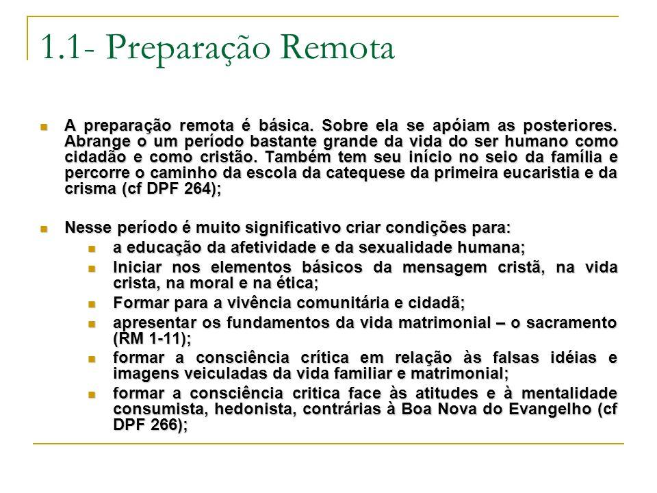 1.1- Preparação Remota