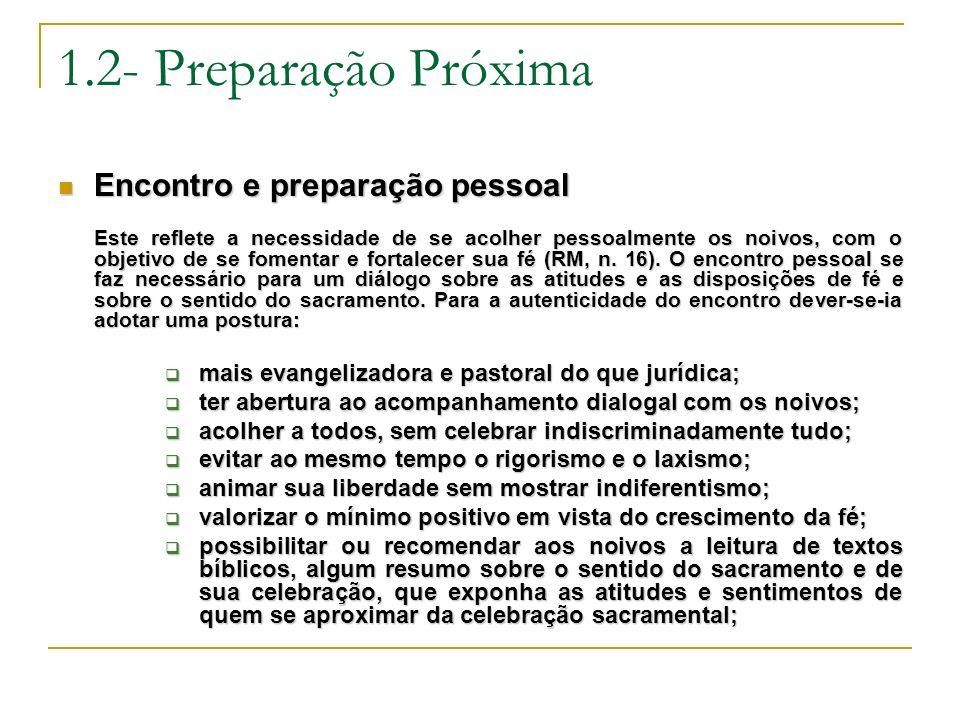 1.2- Preparação Próxima Encontro e preparação pessoal