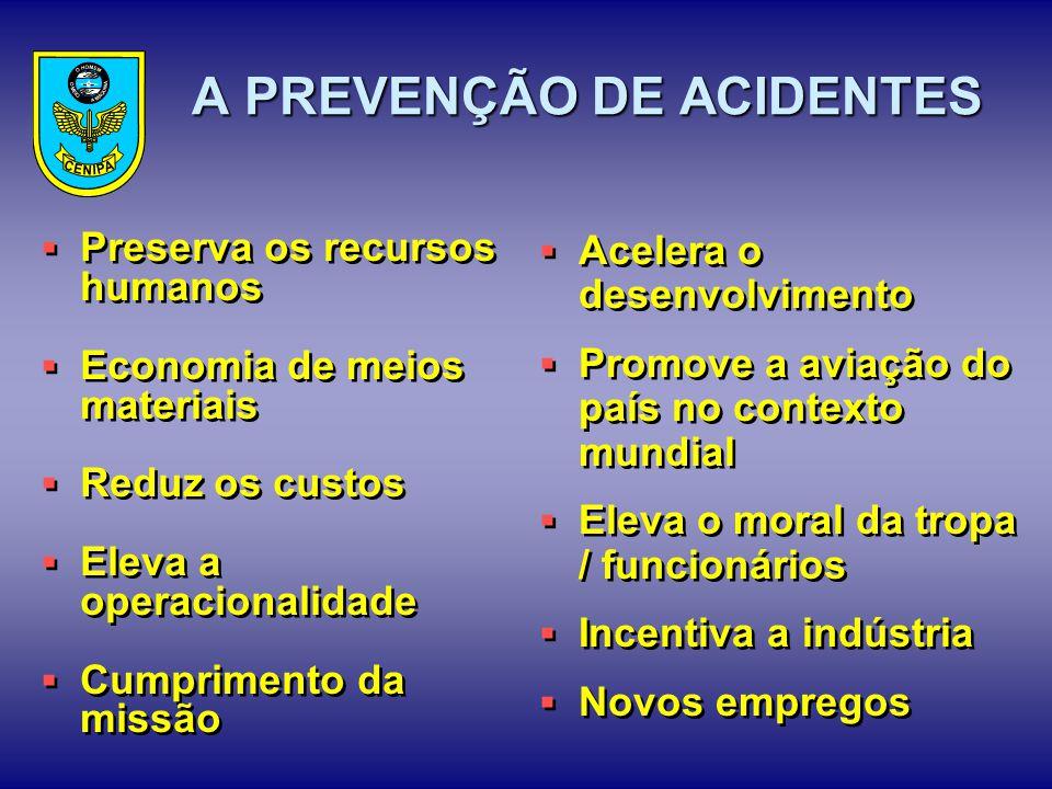 A PREVENÇÃO DE ACIDENTES