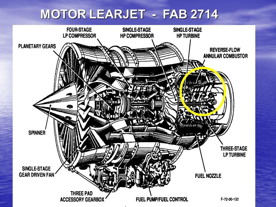 MOTOR LEARJET - FAB 2714