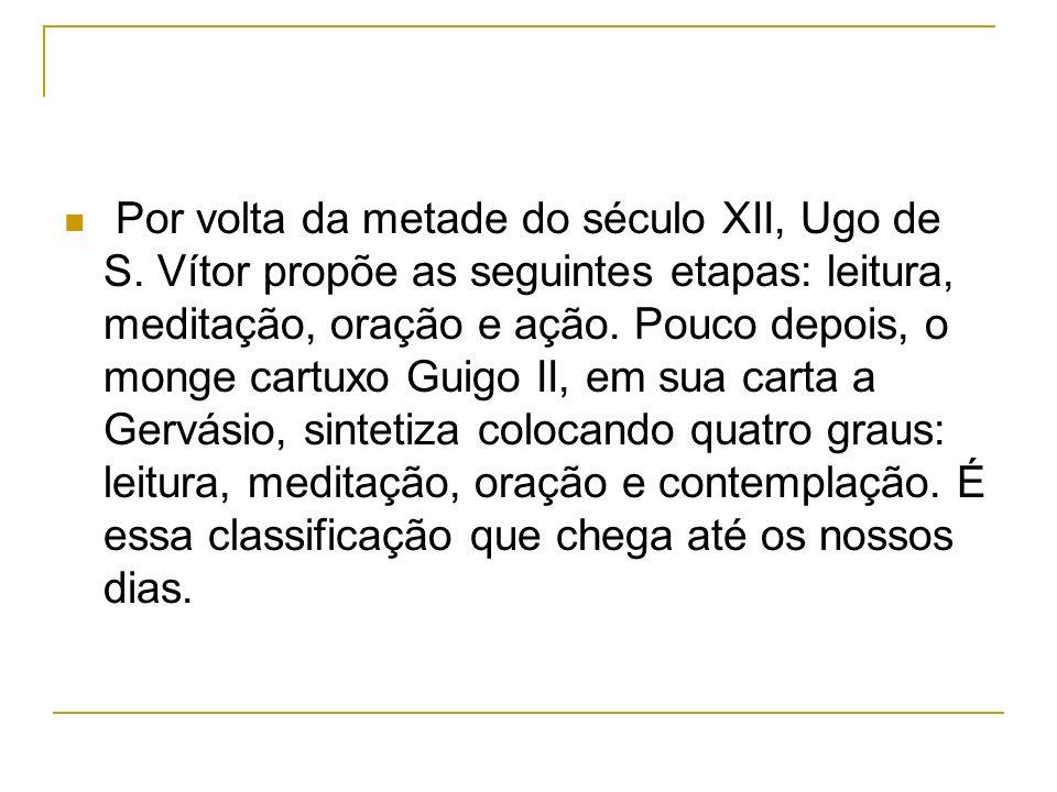 Por volta da metade do século XII, Ugo de S