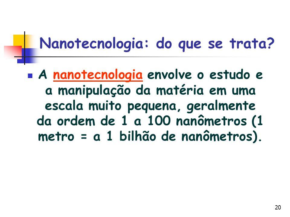 Nanotecnologia: do que se trata