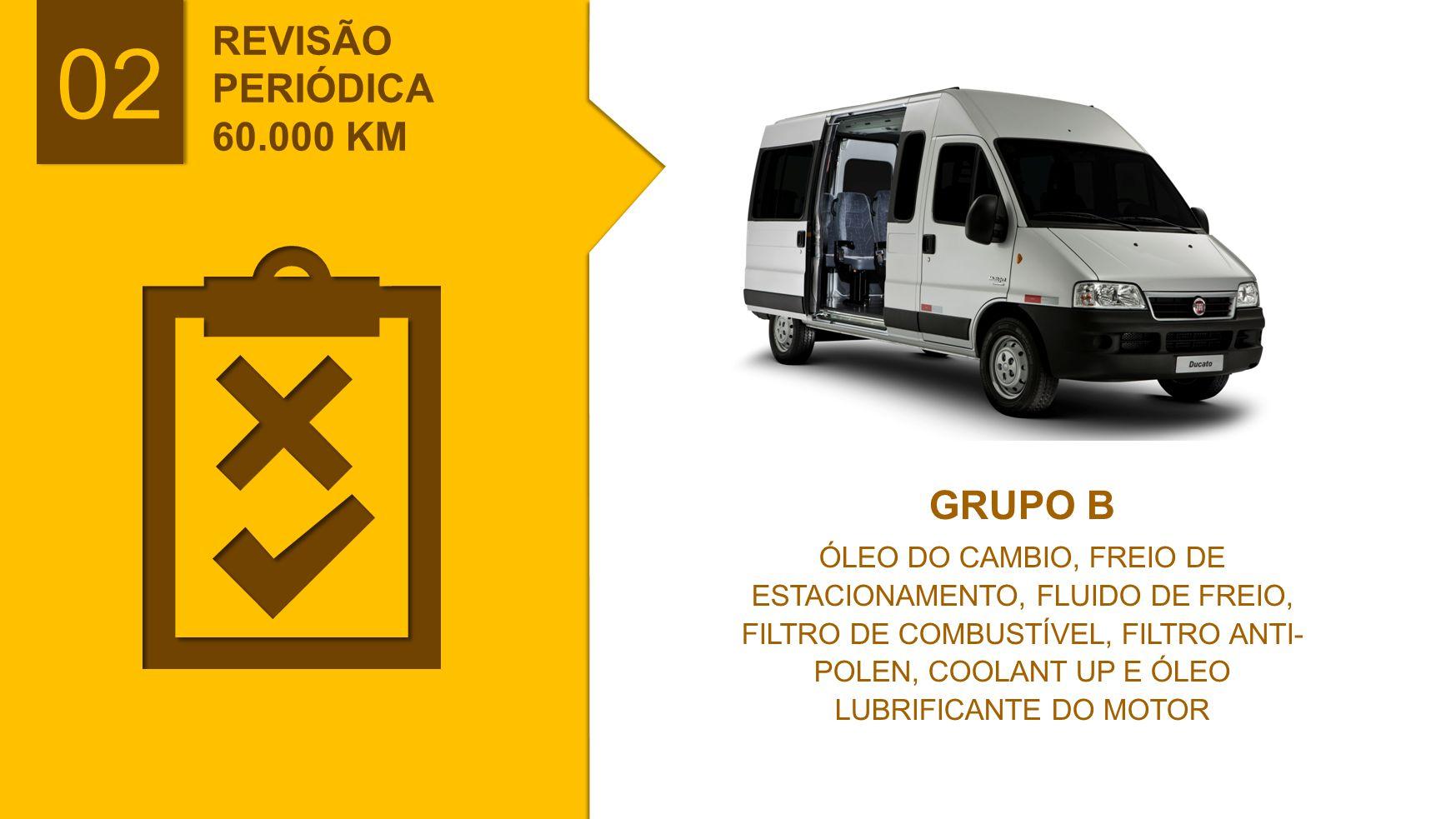 02 REVISÃO PERIÓDICA 60.000 KM GRUPO B