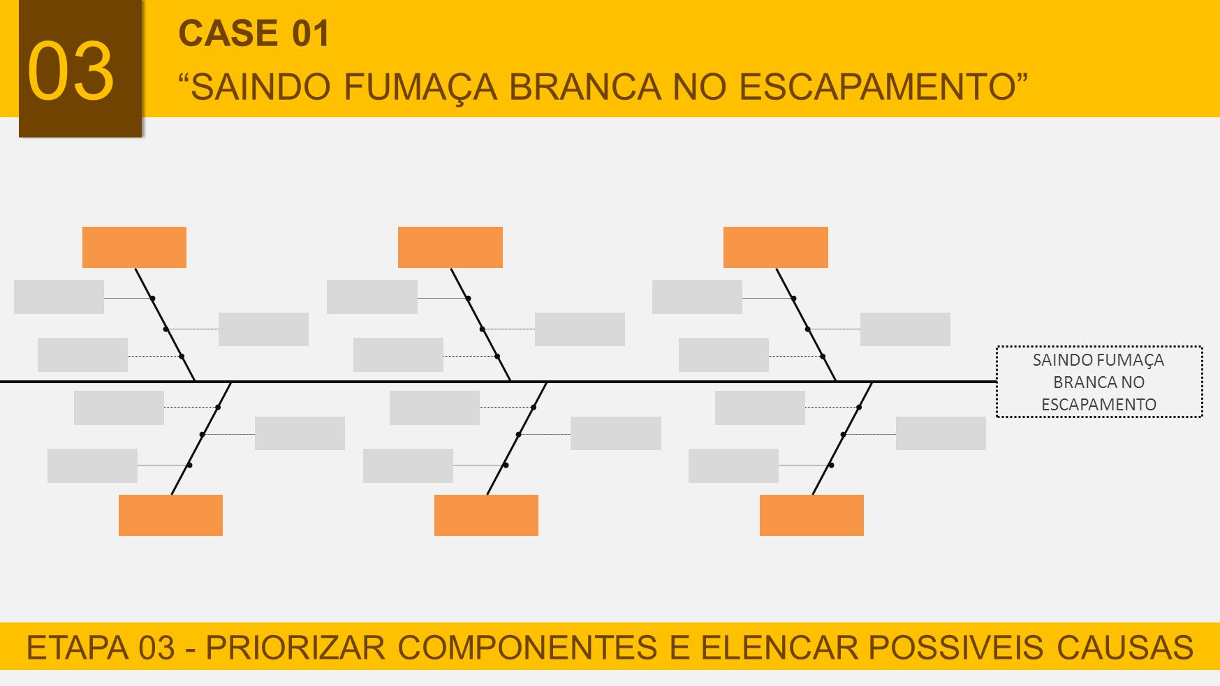 03 CASE 01 SAINDO FUMAÇA BRANCA NO ESCAPAMENTO
