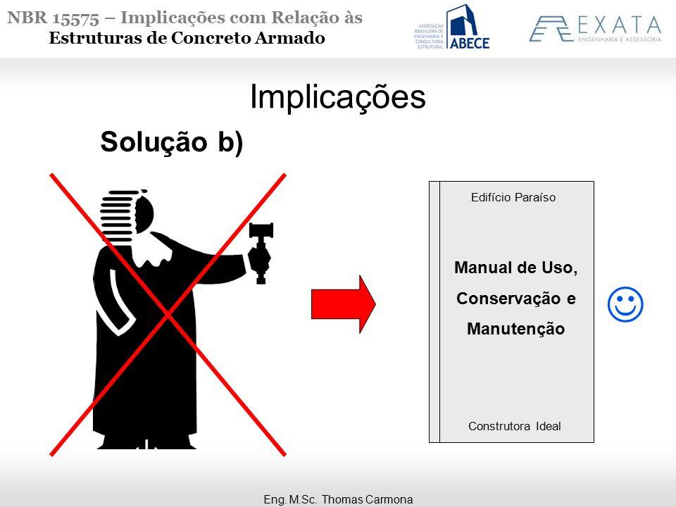 Manual de Uso, Conservação e Manutenção