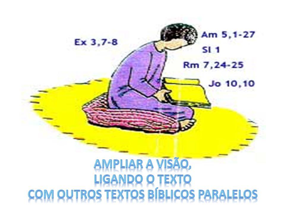com outros textos bíblicos paralelos