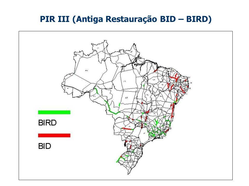 PIR III (Antiga Restauração BID – BIRD)
