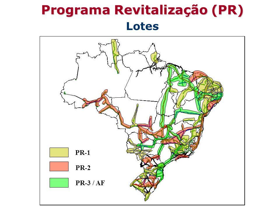 Programa Revitalização (PR) Lotes