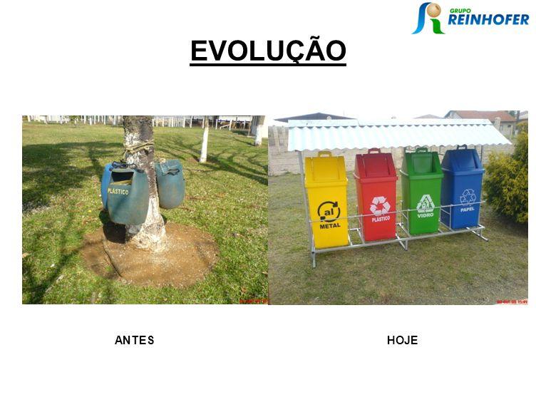 EVOLUÇÃO ANTES HOJE