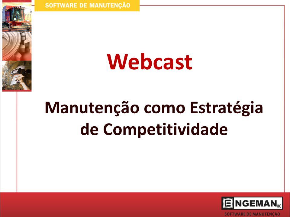 Manutenção como Estratégia de Competitividade