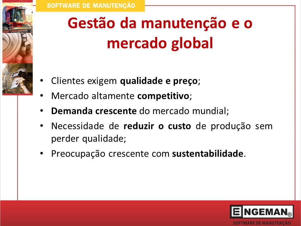Gestão da manutenção e o mercado global