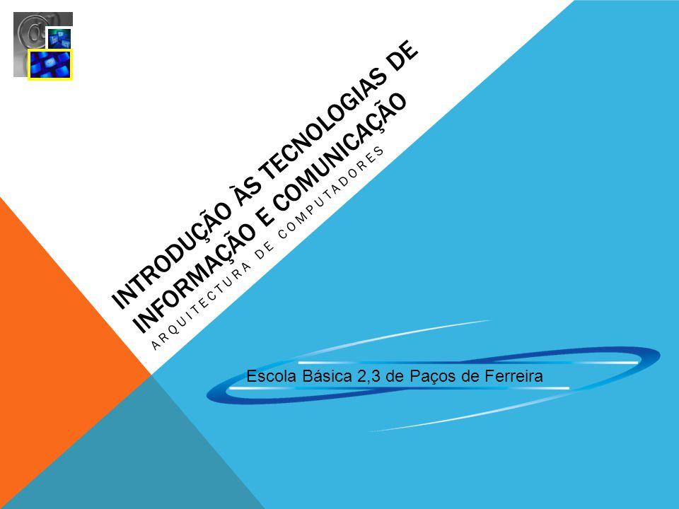 Introdução às Tecnologias de Informação e Comunicação