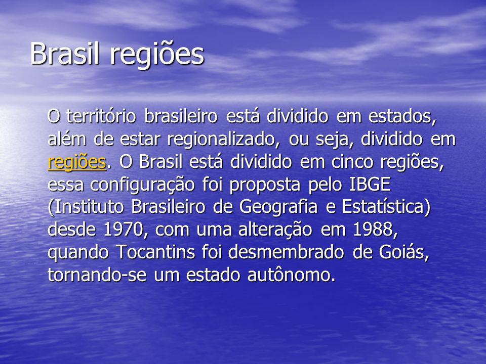 Brasil regiões
