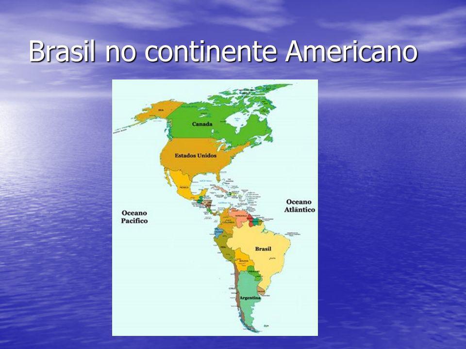 Brasil no continente Americano