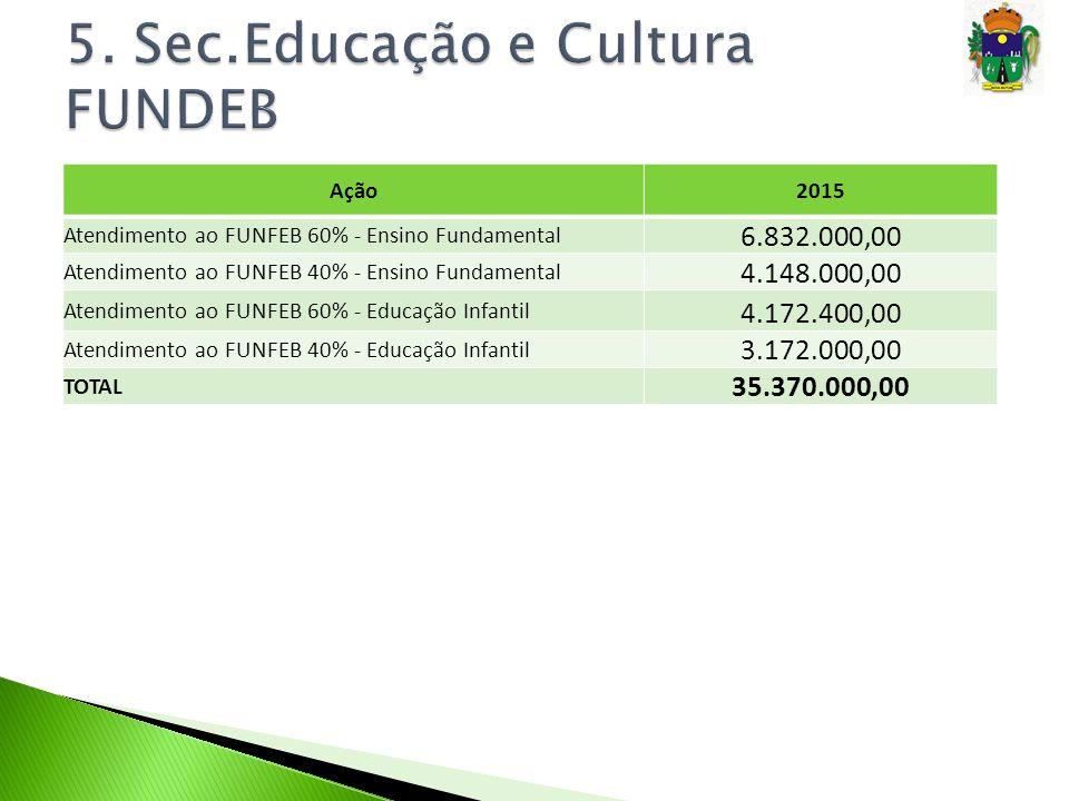 5. Sec.Educação e Cultura FUNDEB