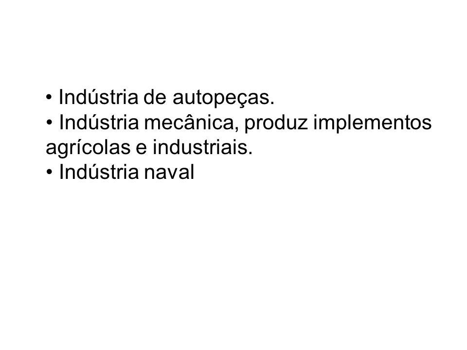 • Indústria de autopeças
