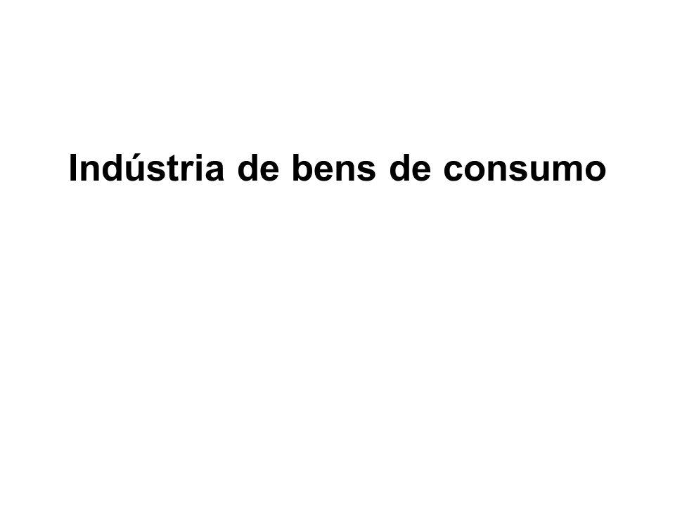 Indústria de bens de consumo
