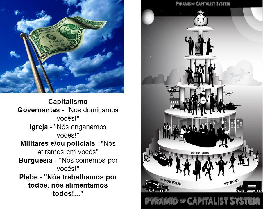 Capitalismo Governantes - Nós dominamos vocês